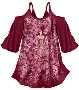 minnie mouse disney top