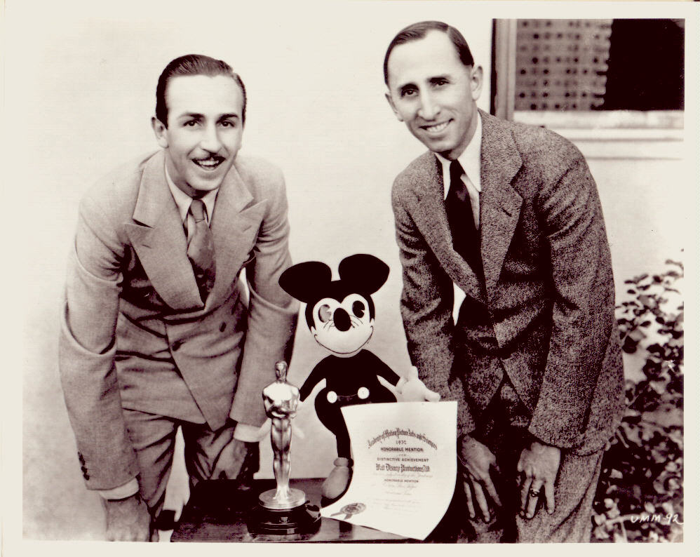 roy and walt disney ORB