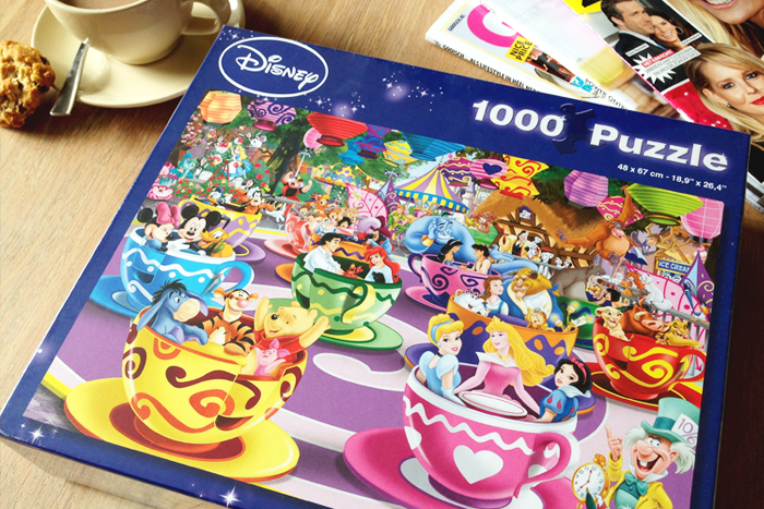big bazar disney puzzel e