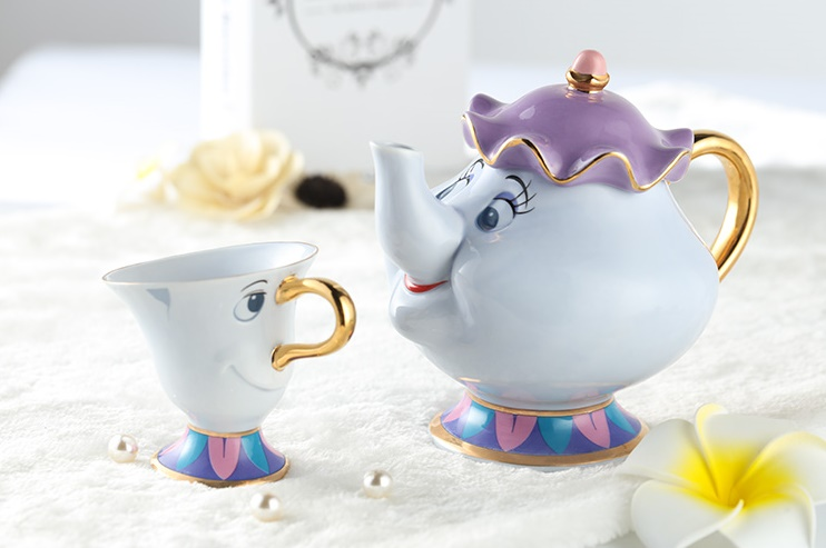beauty beast tea set