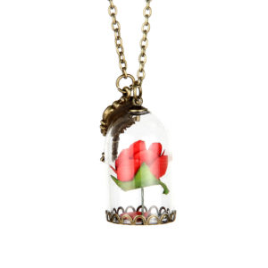 beauty and the beast ketting
