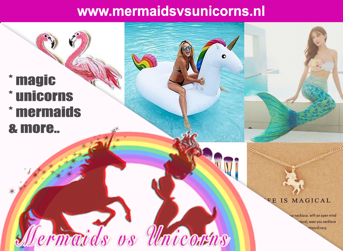 mermaids vs unicorns