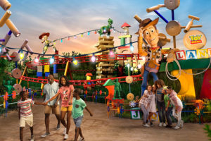 Toy Story land in Walt Disney World!